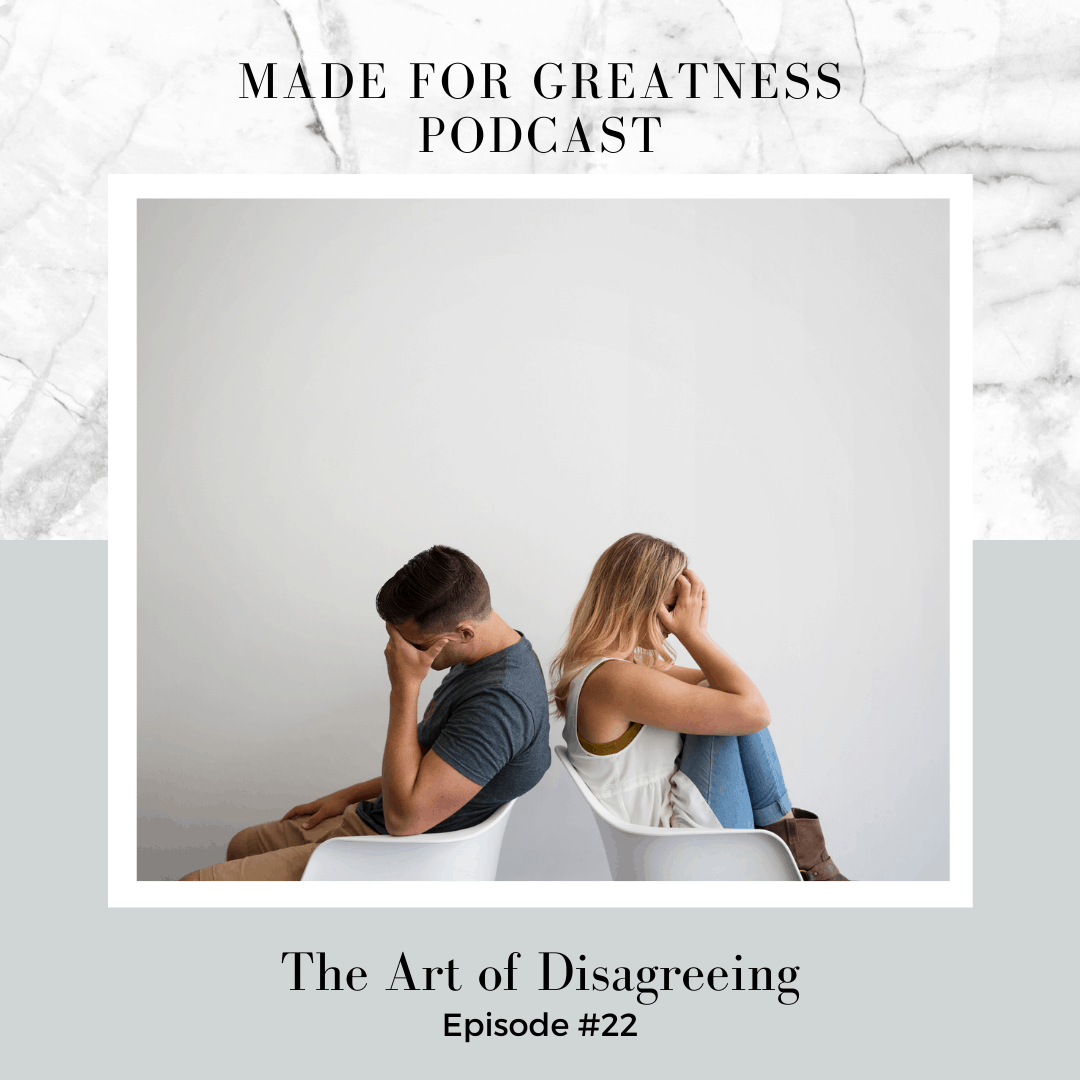 The Art of Disagreeing